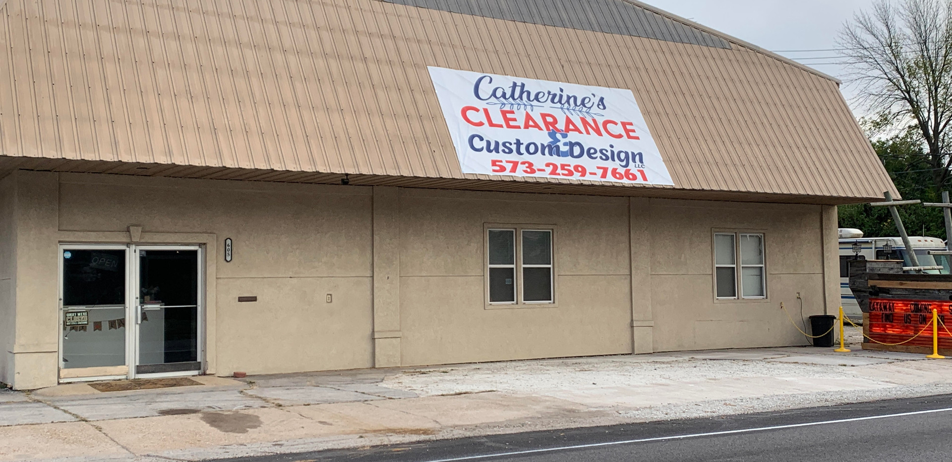 Large Building Banner