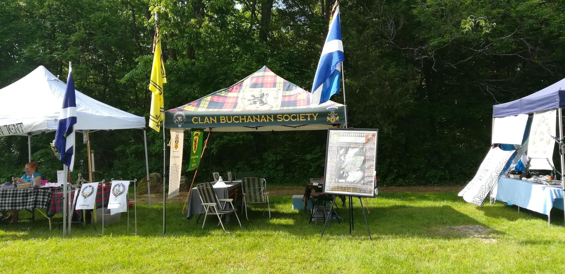 Clan Buchannan Tent