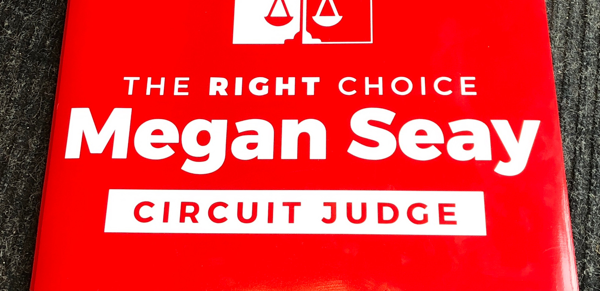 political magnetic signs circuit judge