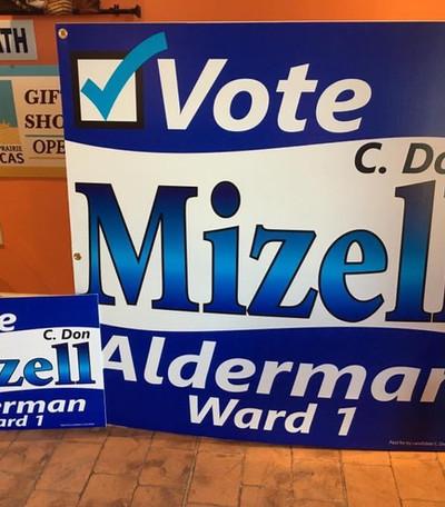 Mizell Yard Signs