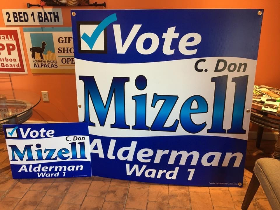 Mizell Yard Signs