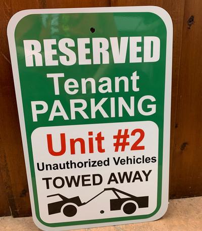 Reserved Parking Custom