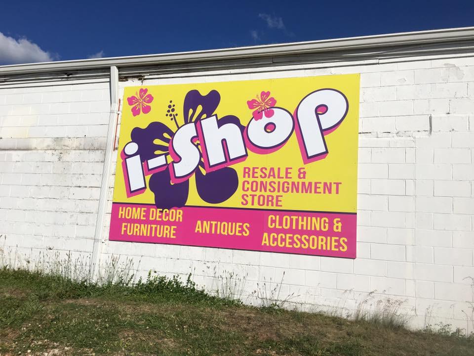 I-Shop Panel Sign
