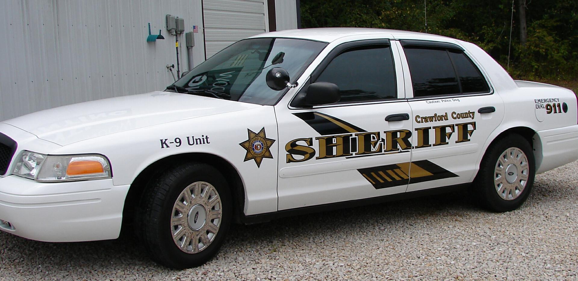 Police Fleet Tint