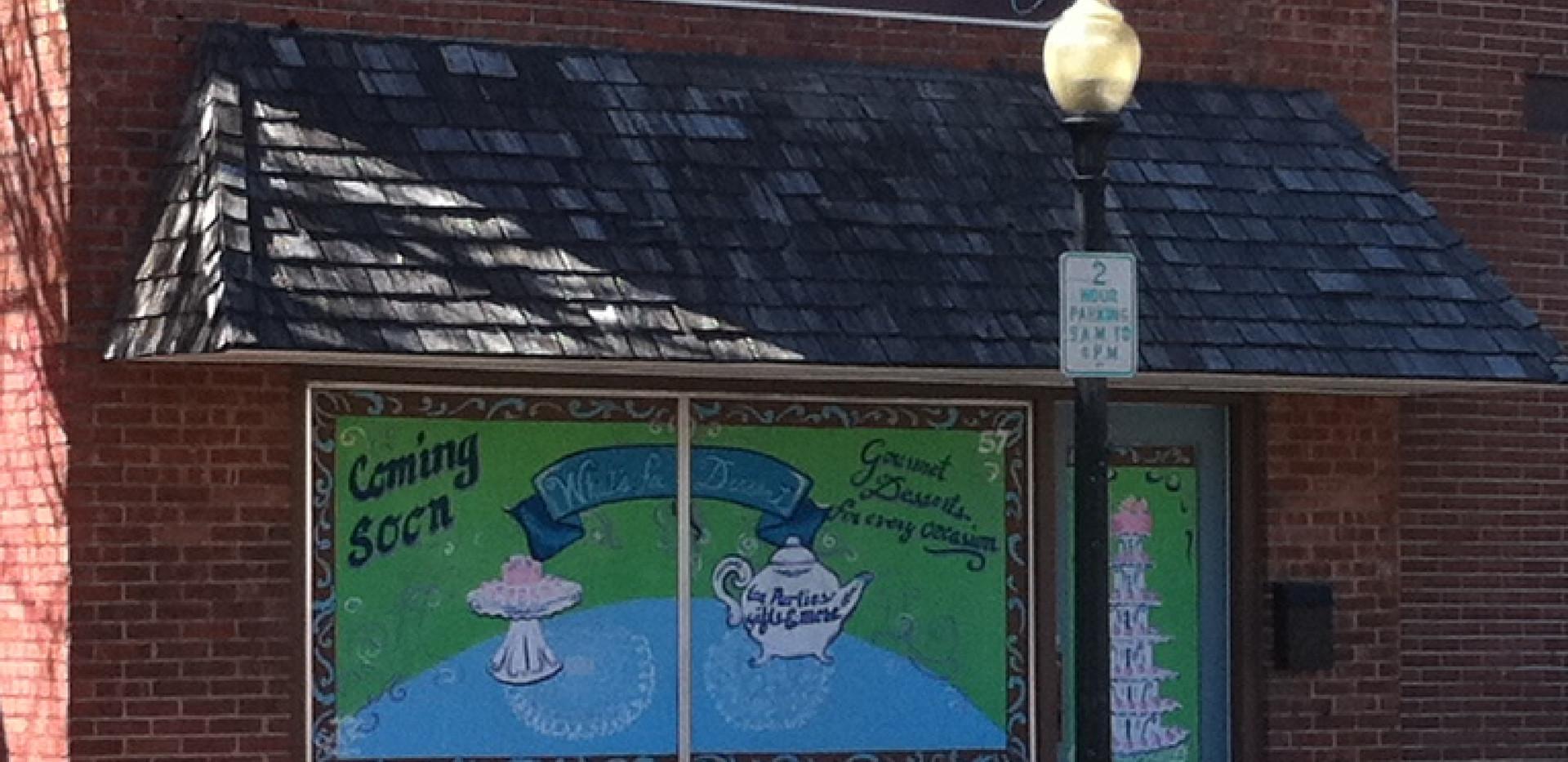 Bakery Building Signage
