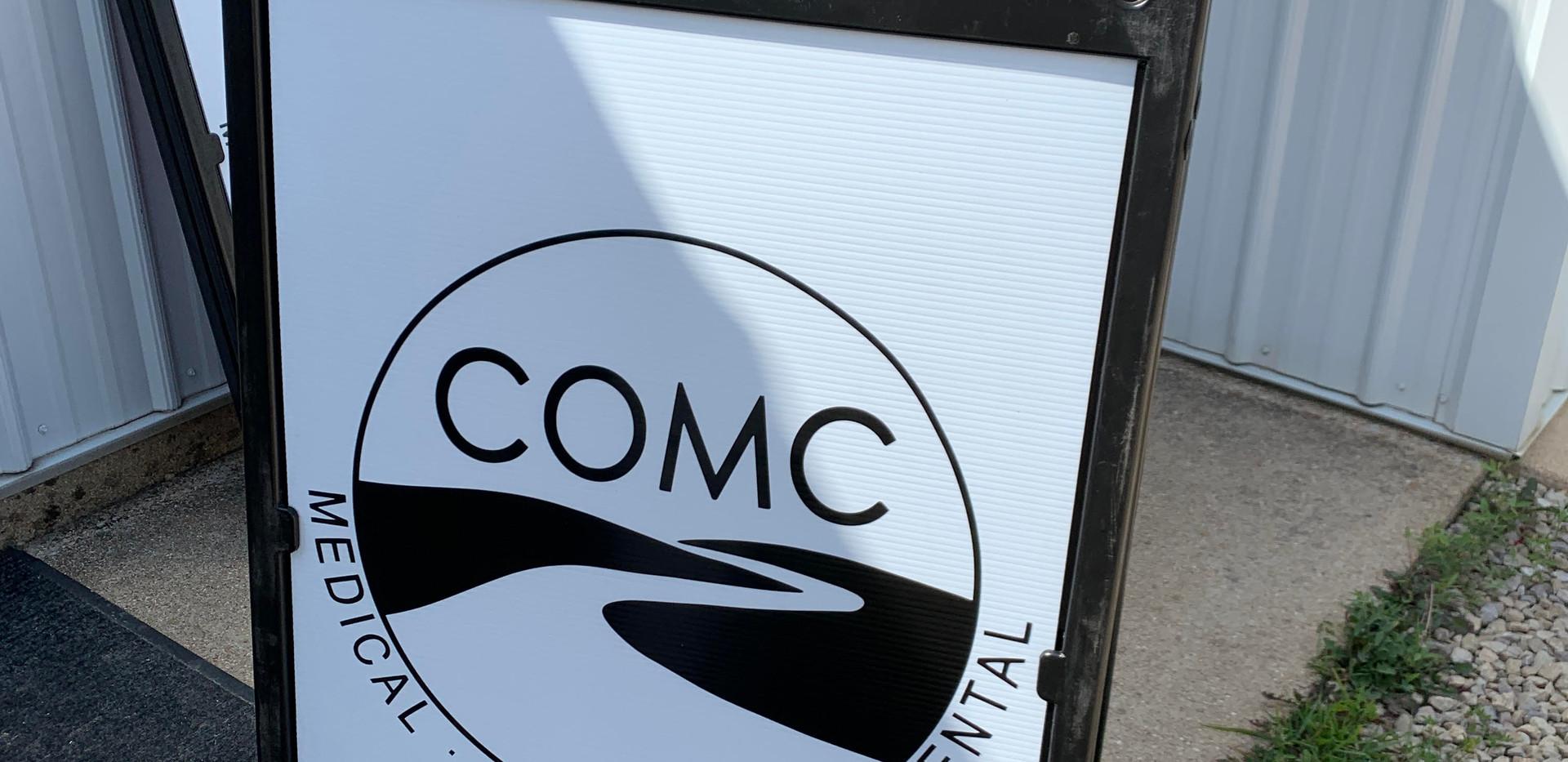COMC Sidewalk Signs