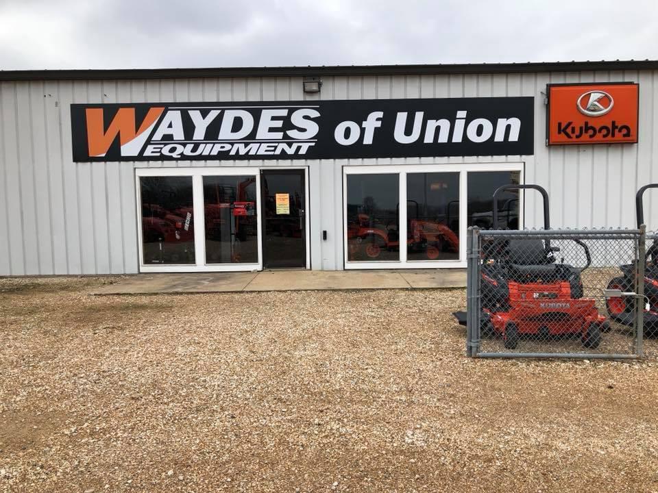 Waydes Equip. Building Sign