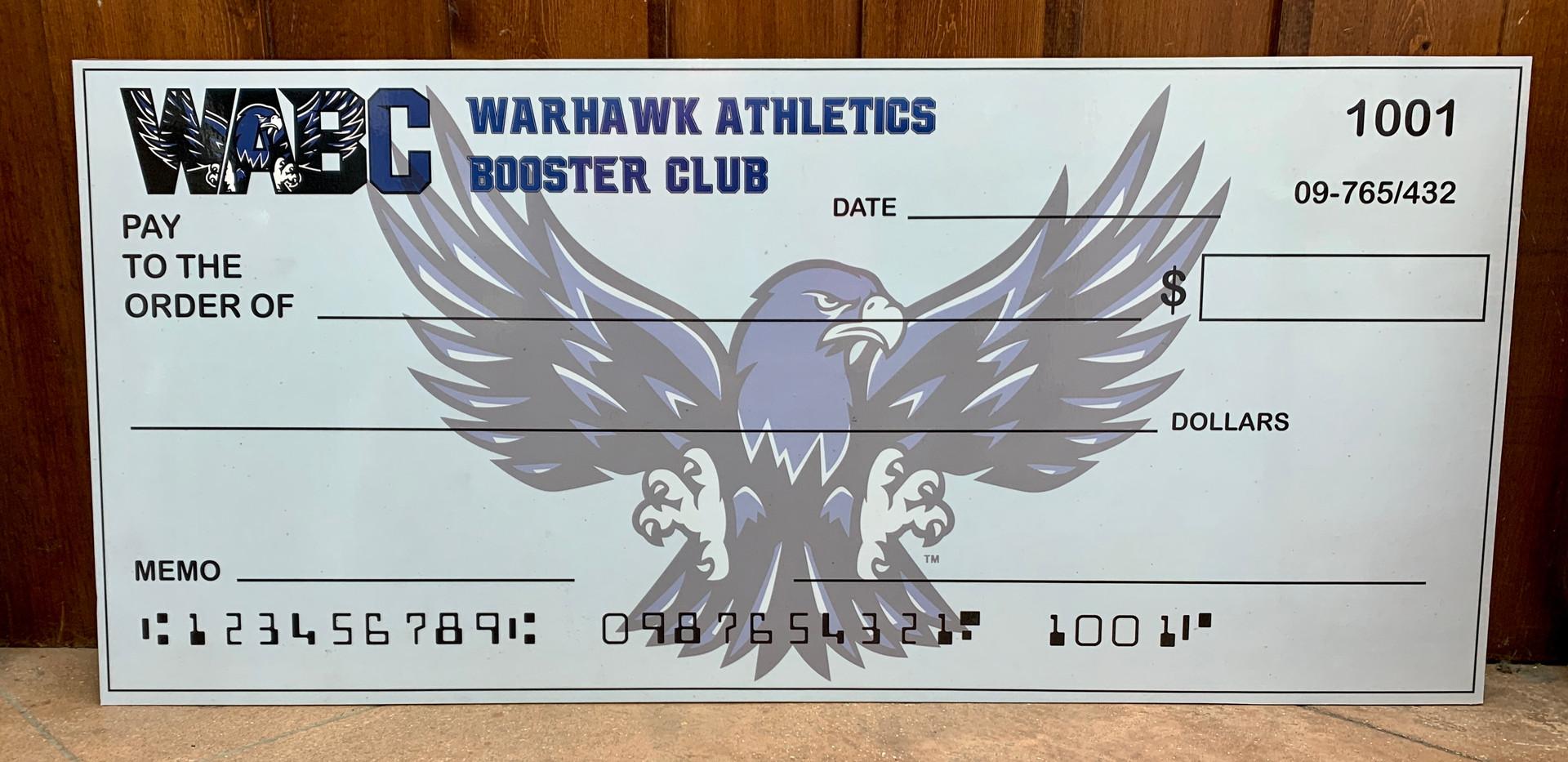 WABC Custom Dry Erase Sign