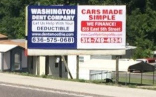 WASHINGTON DENT COMPANY CARS MADE SIMPLE