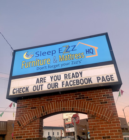 Sleep Ezzz Illuminated Brick Monument