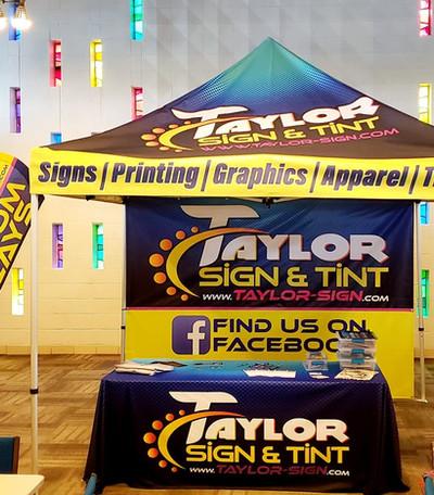Taylor Sign Full Setup