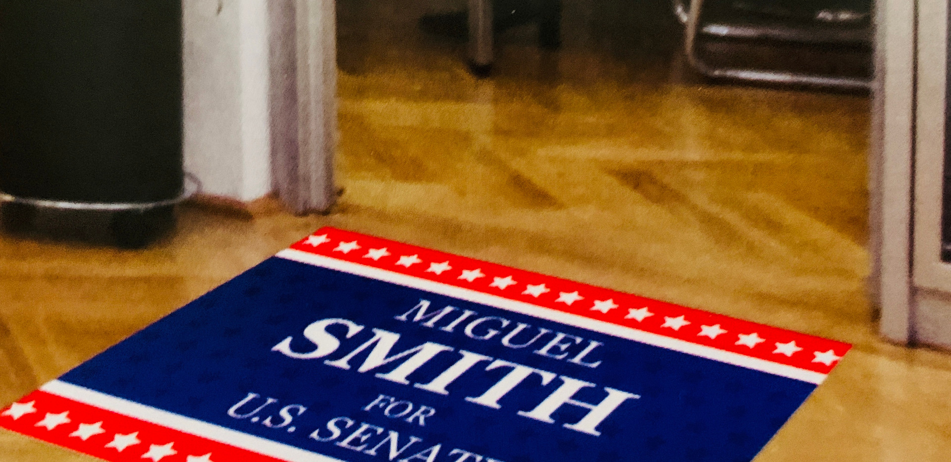 Campaign Floor Graphic