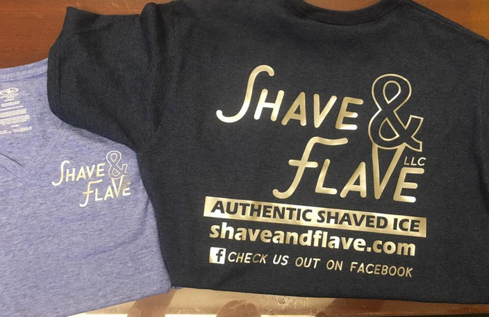 Shave & Flave T-shirts