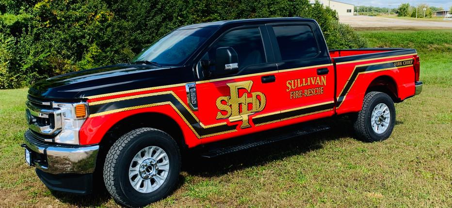 Sullivan Fire Rescue Partial Wrap
