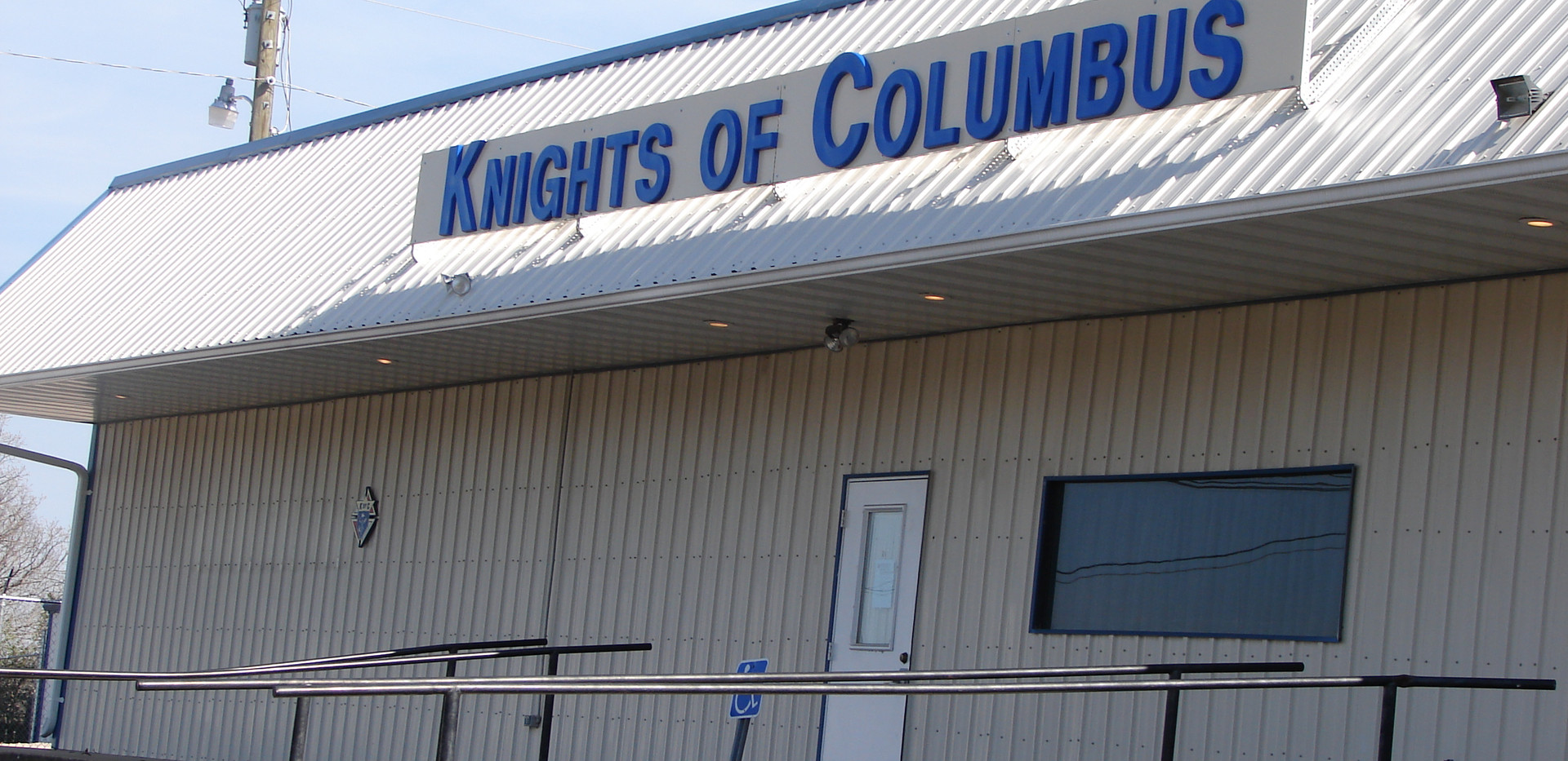 KNIGHTS OF COLUMBUS ROOF SIGN.jpg