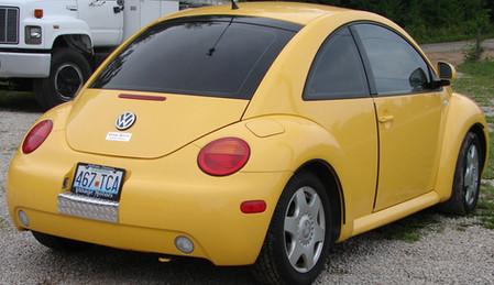 VW Bug Tint Rear Windows