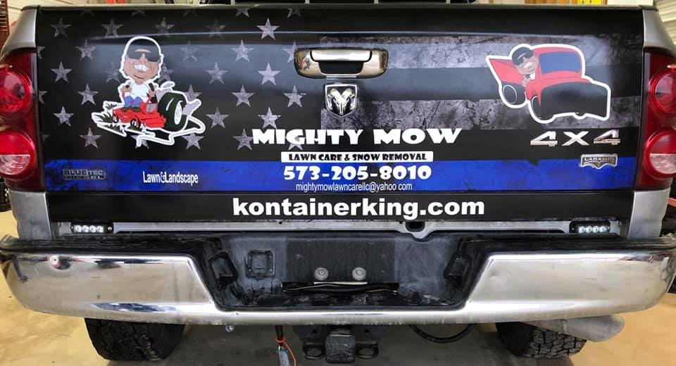 Mighty Mow Tailgate Wrap