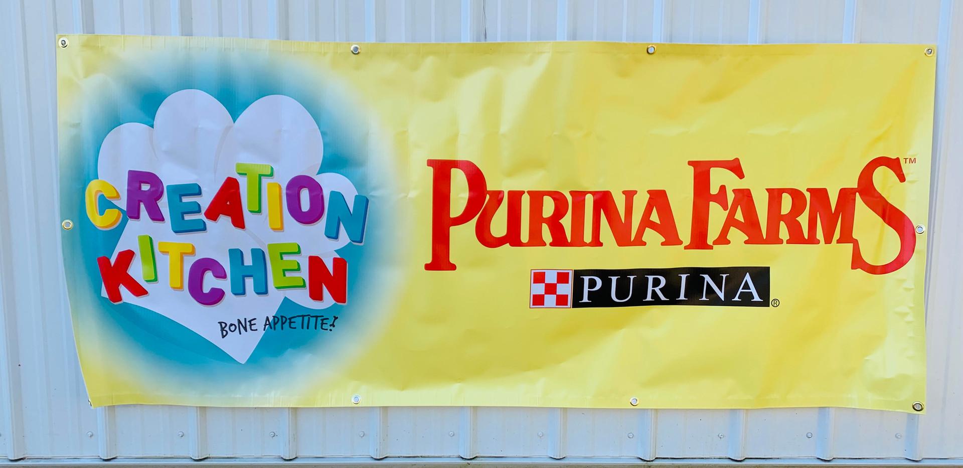 Purina Farms Creation Kitchen Banner
