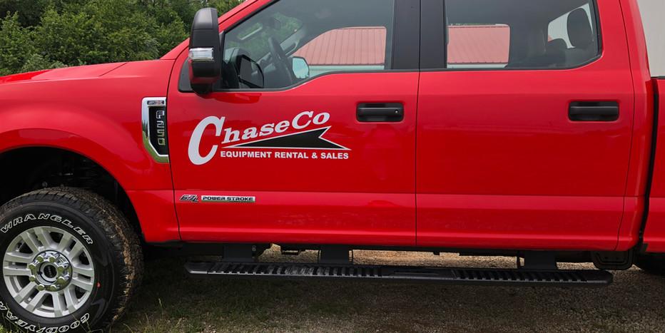 ChaseCo Fleet Graphics