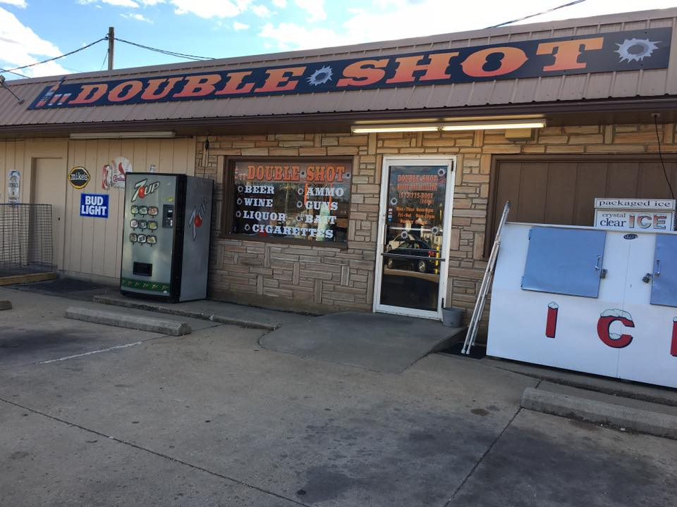 Double Shot Builging Roof Signage