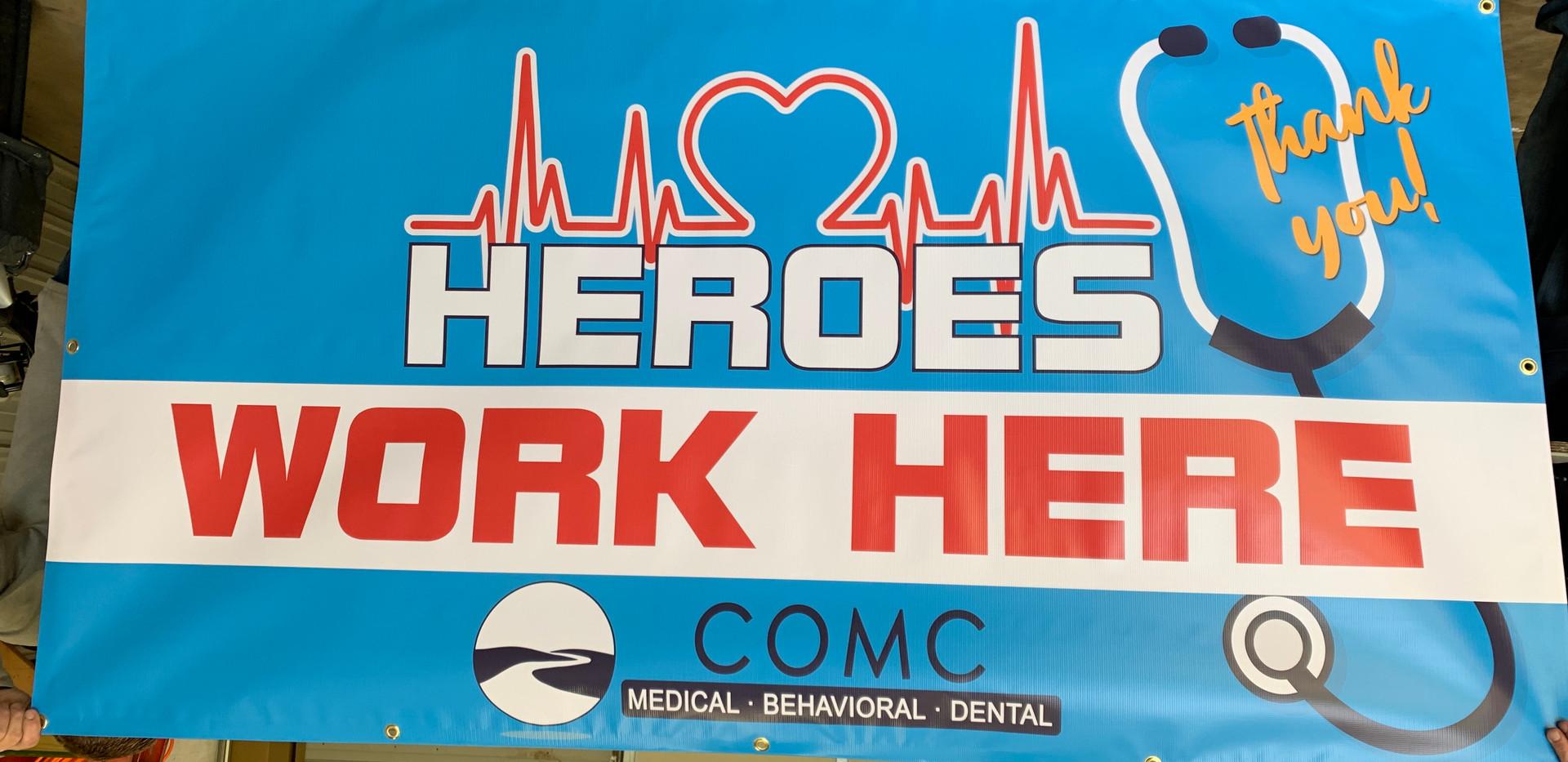COVID-19 Heroes Custom Banner