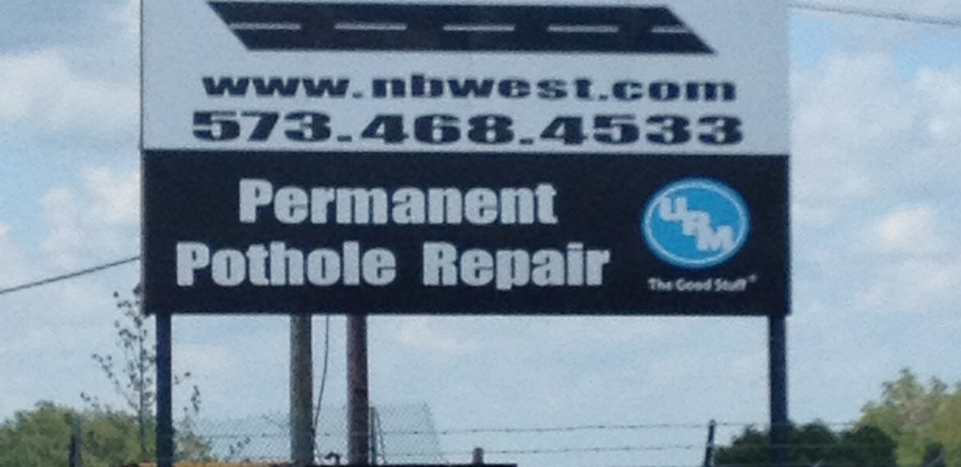 West Contracting Sign