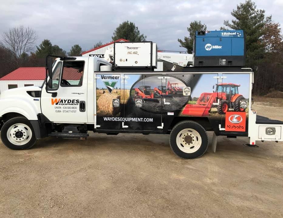 Wayde's Work Truck Wrap