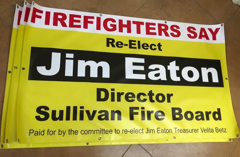 Eaton Political Banner