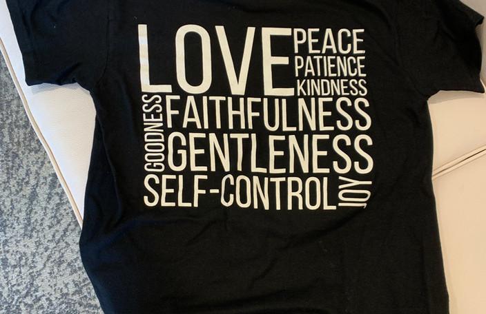 True Love Ministries Shirt Back