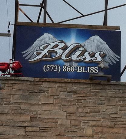 Bliss Bar Sign