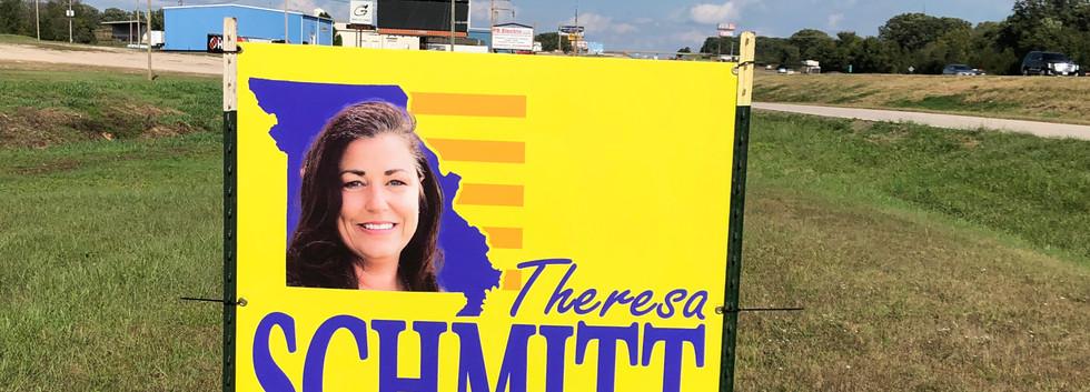 house political sign