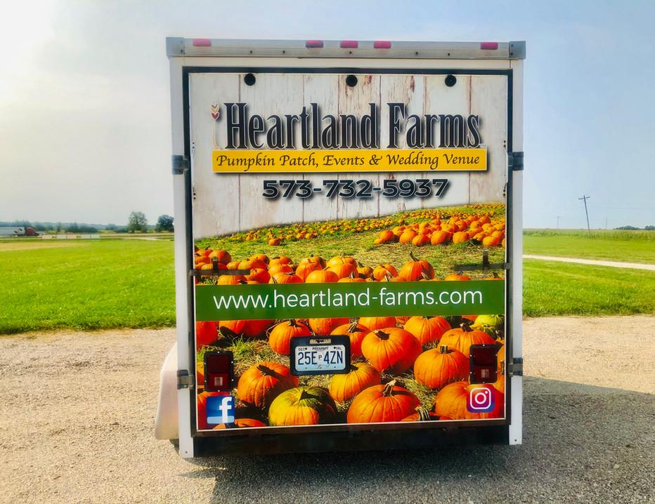 Heartland Trailer Rear