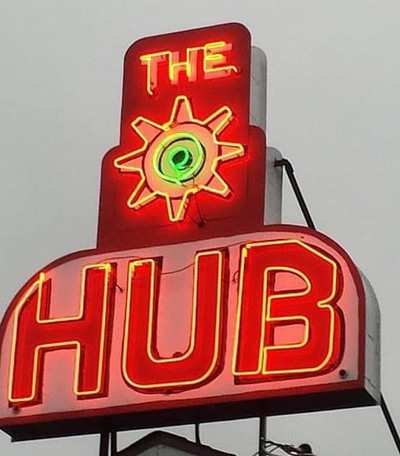 Hub Neon Sign
