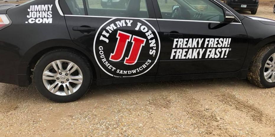Jimmy Johns Fleet Graphics