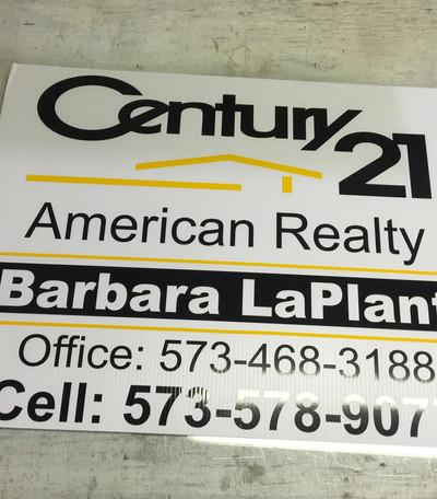 Century21 Yard Sign