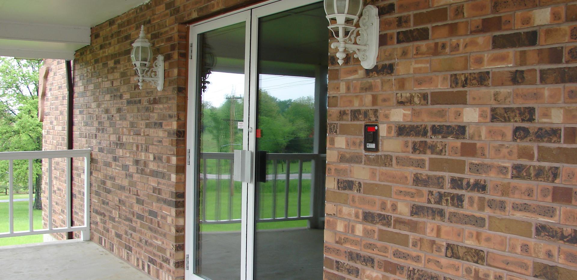 Commercial Door Tint