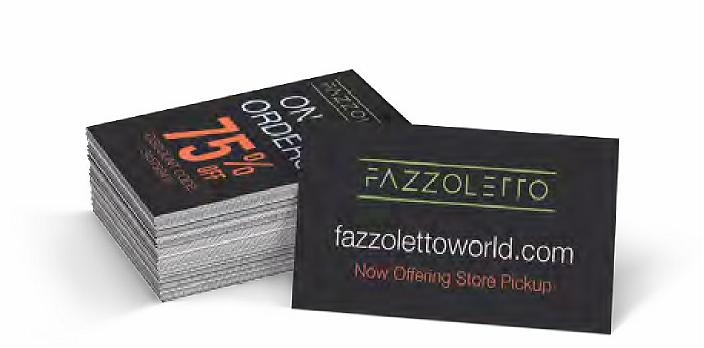 COVID-19 Online Ordering Business Cards