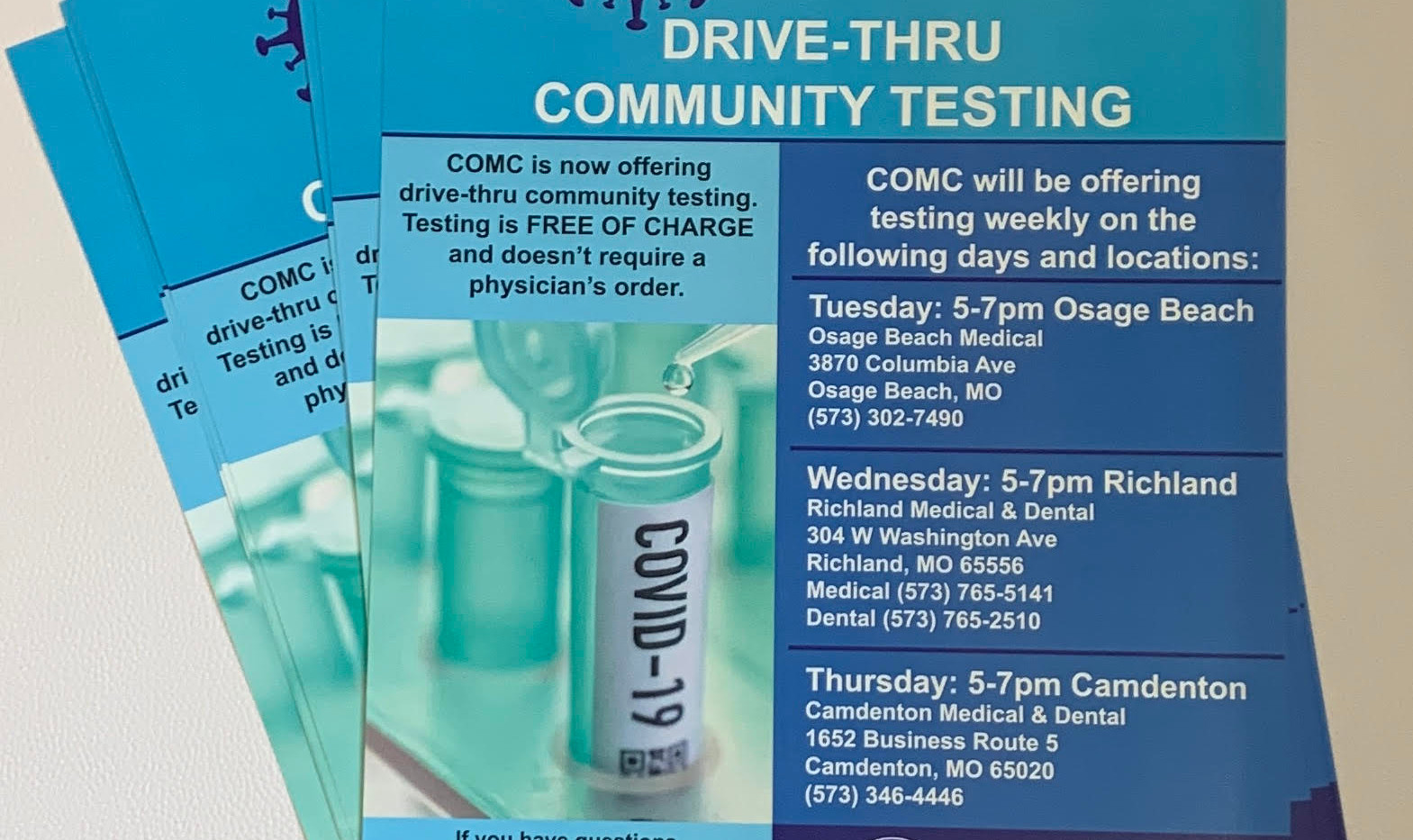 COVID-19 Flyers