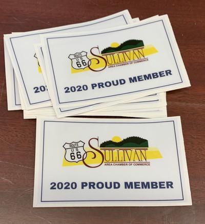 Sullivan Chamber of Commerce Clings