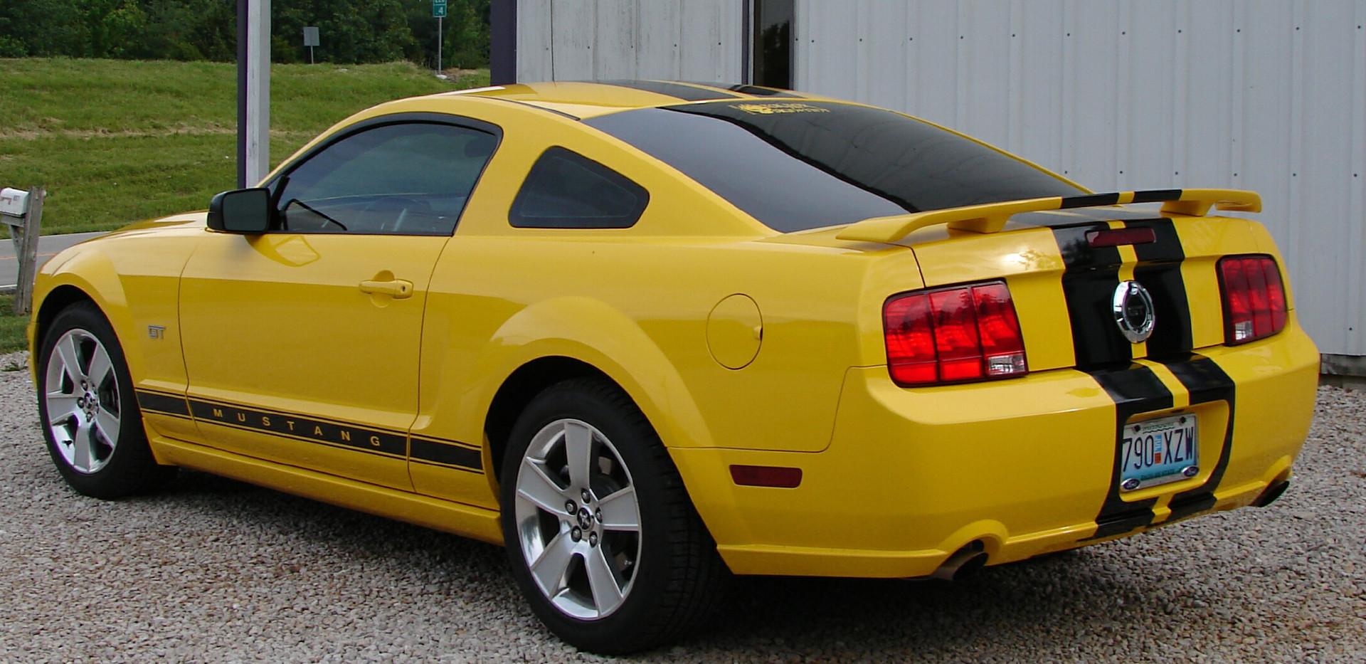 Mustang Dark Tint