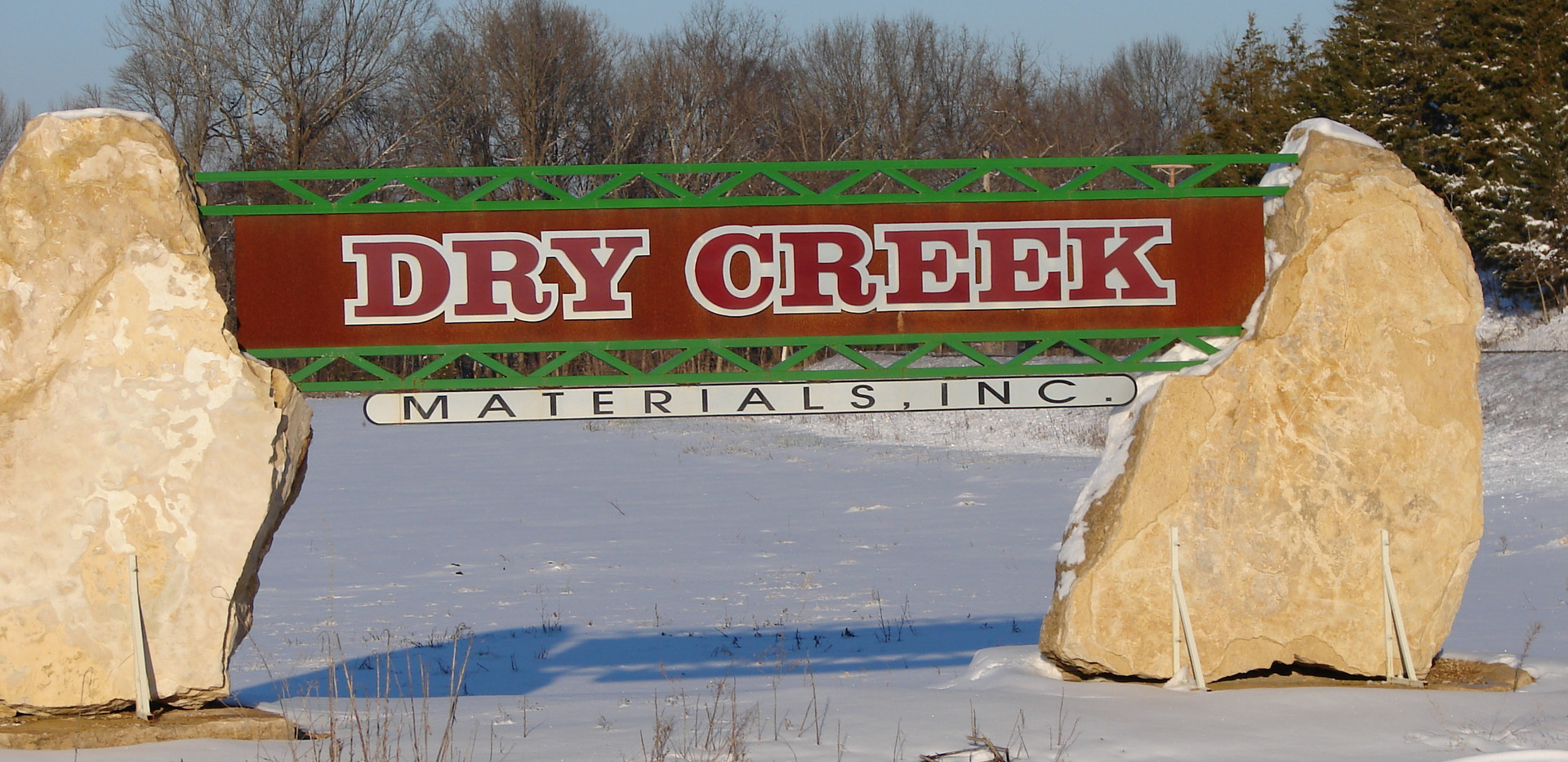 Dry Creek Monument Sign