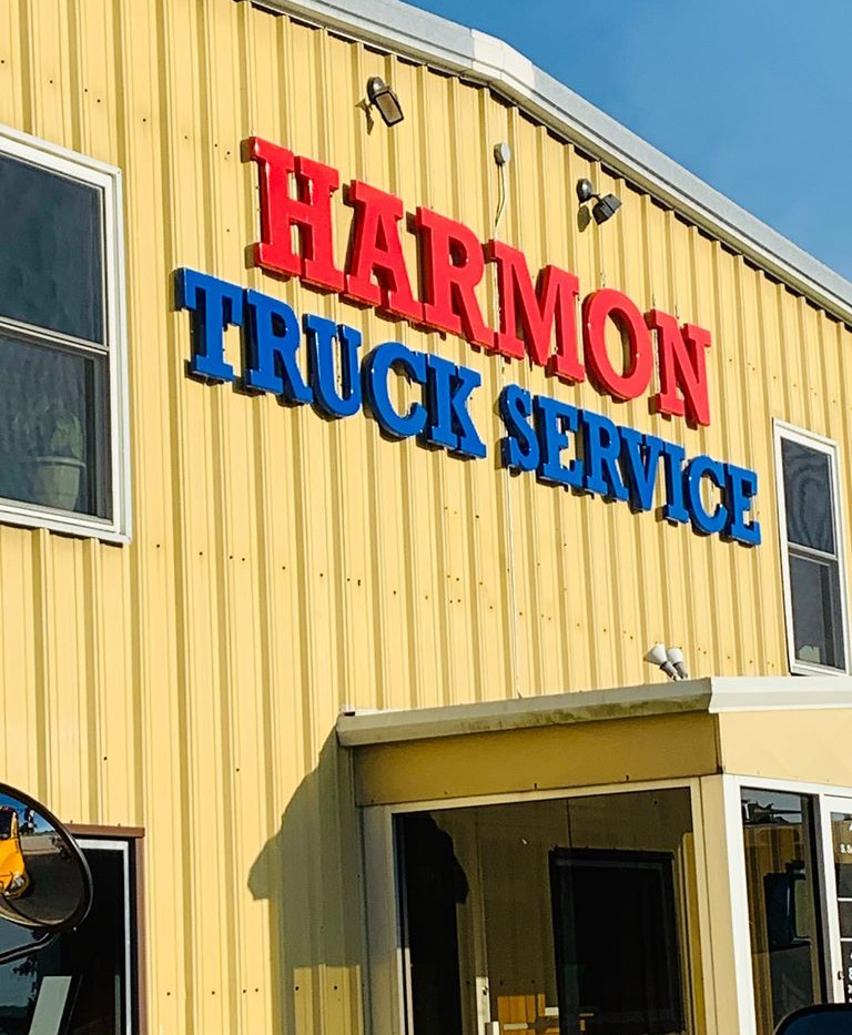Harmon Truck Wall Letters