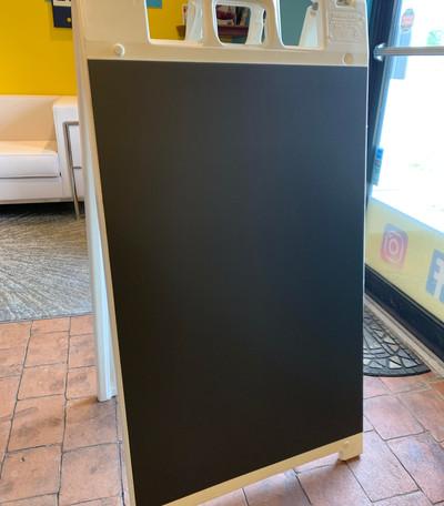Chalkboard Portable Sign