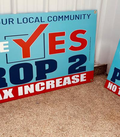 Voting Yard Signs