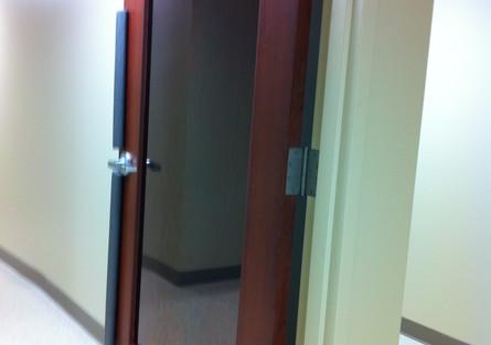 Office Door Tint