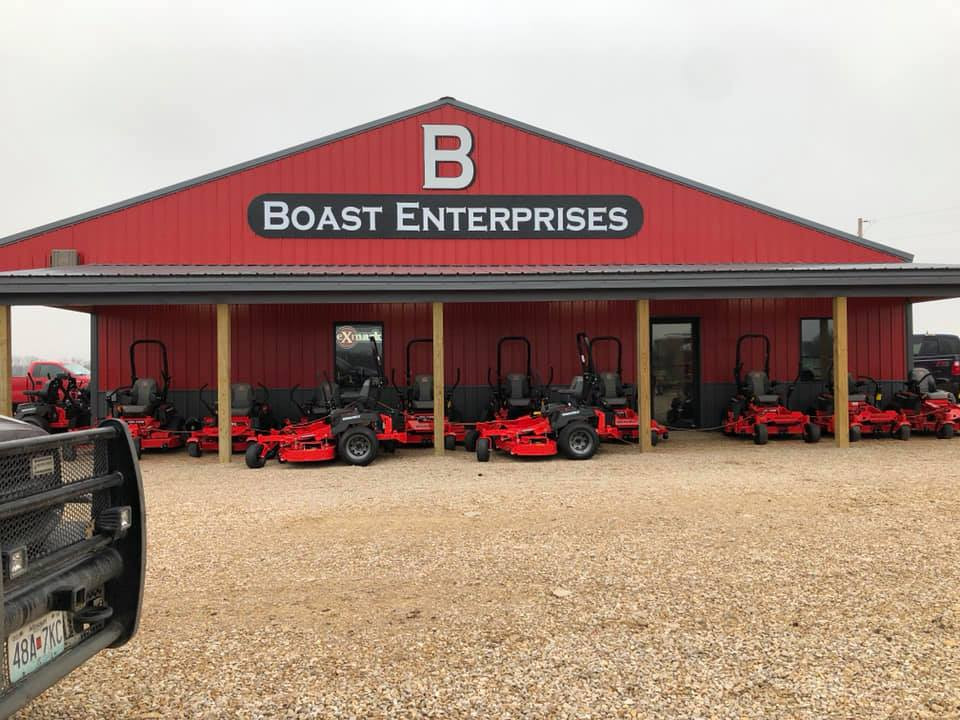 Boast Custom Routered Building Sign