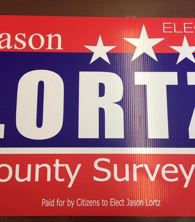 Lortz Yard Sign