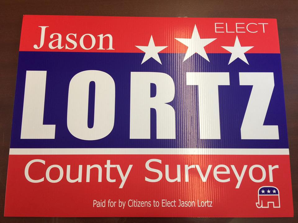 Lortz Yard Sign