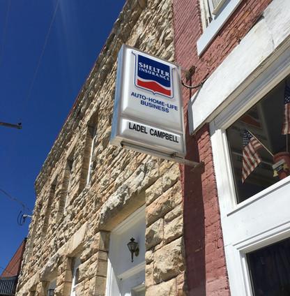 Shelter Insurance Light Cabinet