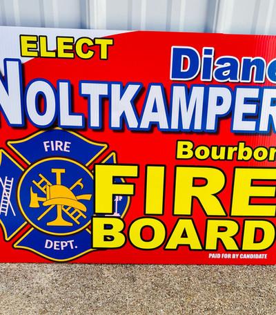 Noltkamper Yard Sign